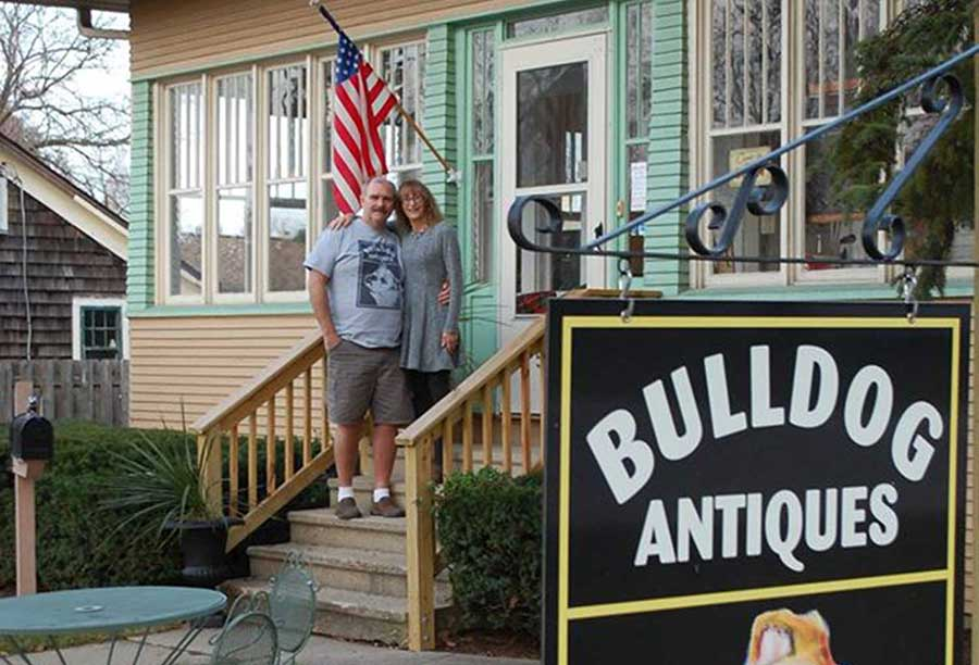Bulldog Antiques store front